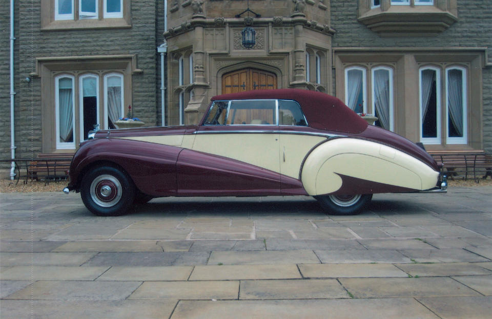 BDC and R-REC national concours-winning,1953 Bentley R-Type 4½-Litre Drophead Coupé  Chassis no. B339SP Engine no. B419S