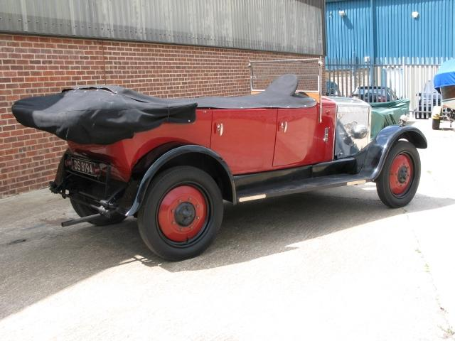1926 Armstrong-Siddeley 14hp Cotswold Tourer  Chassis no. 20849 Engine no. 18979