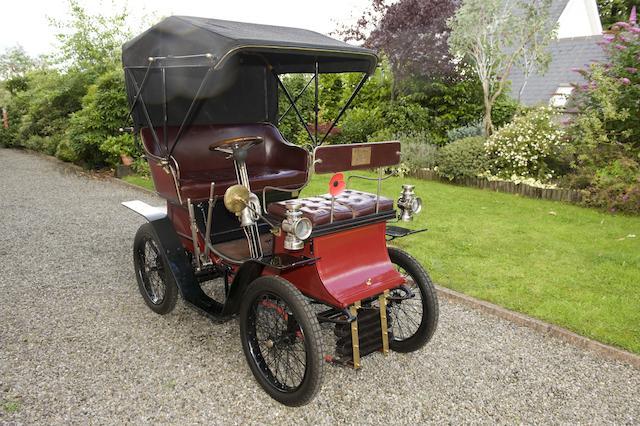 1902 Rochet 4 1/2hp Type D Vis-à-Vis  Chassis no. 1369 Engine no. 2627