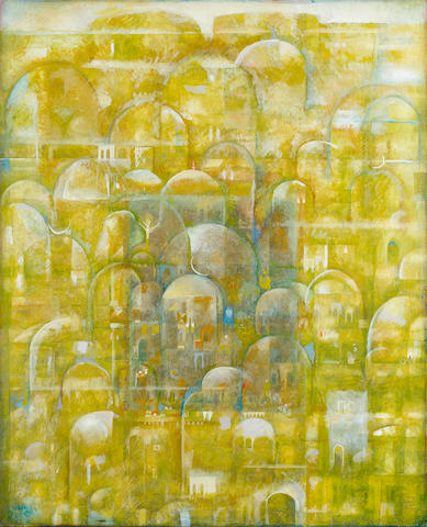 (n/a) Suad Al Attar (Iraq, born 1942) City of Domes,