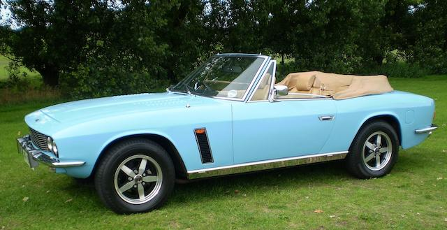 The ex-Harold Robbins, ex-Frederick Forsyth,,1973 Jensen Interceptor Series III Convertible  Chassis no. 2340 PP001 Engine no. 4C12211
