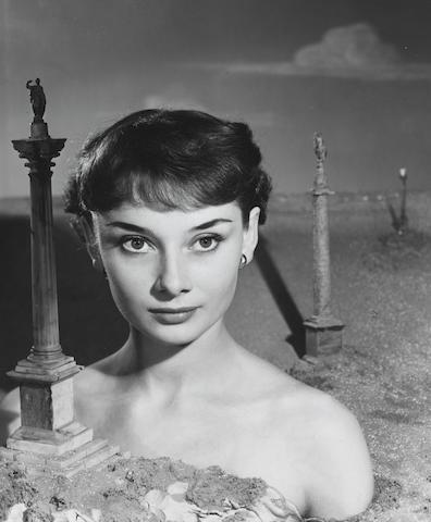 Angus McBean (British, 1904-1990) Audrey Hepburn, 1951