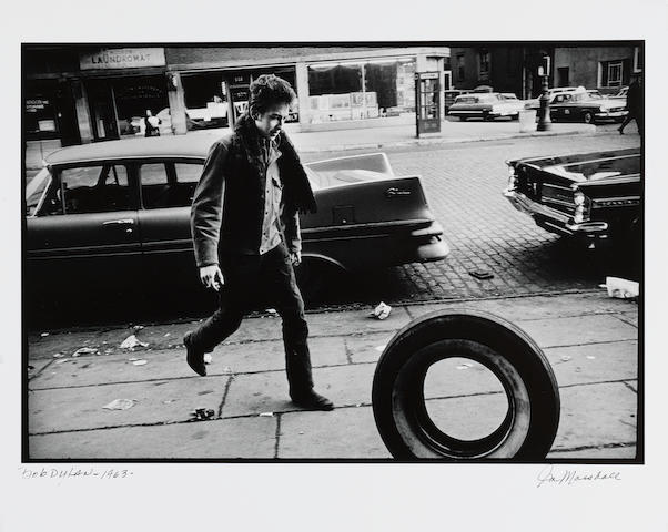 Jim Marshall (American, 1936-2010) Bob Dylan, New York City, 1963