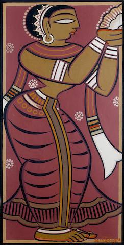 (n/a) Jamini Roy (India, 1887-1972) Apsara,
