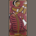 Jamini Roy (India, 1887-1972) Apsara,