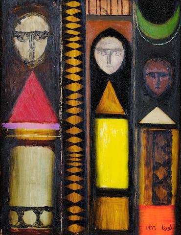 (n/a) Lorna Selim (Iraq, born 1928) Three Spirits,
