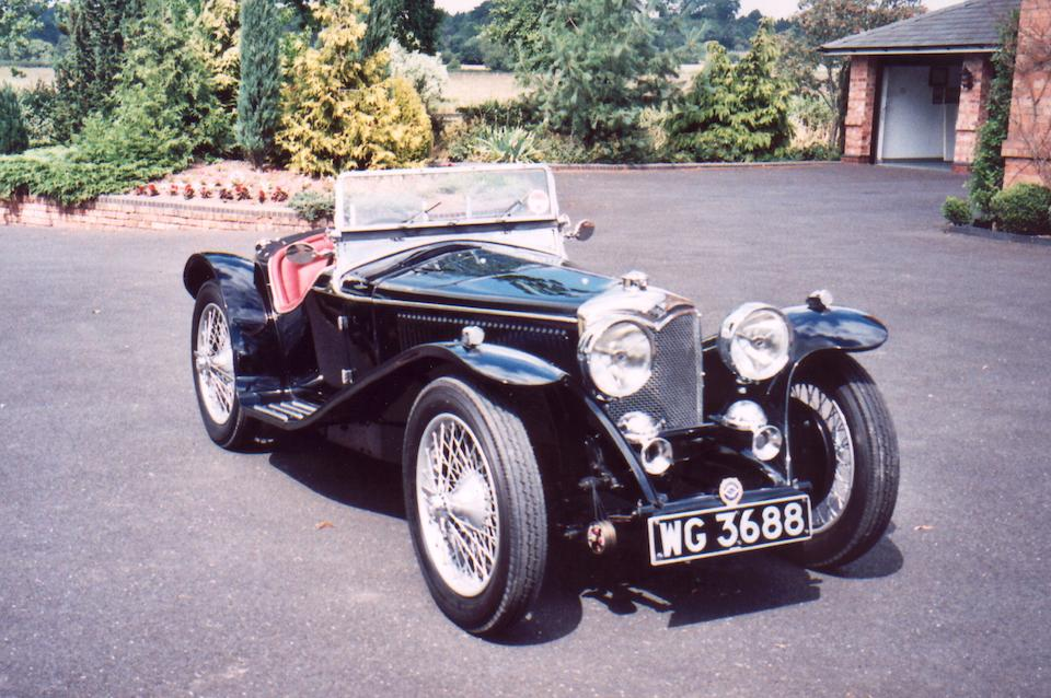 One lady owner for forty-six years,1935 Riley 9hp Imp Two-seater Sports  Chassis no. 6027496 Engine no. 56020
