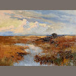 Allerley Glossop (South African, 1870-1955), Allerley Glossop oil painting Lanscape
