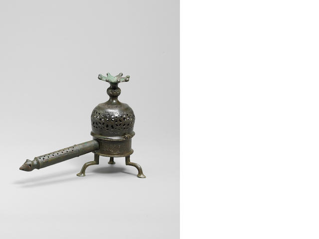 A Khorasan bronze Incense Burner Persia, 12th/ 13th Century