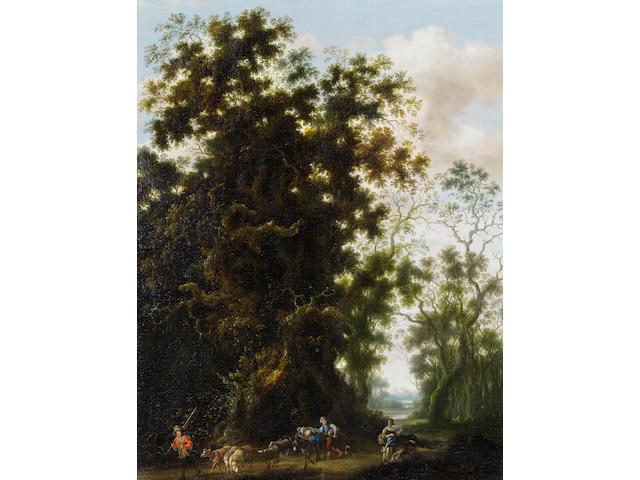 Joachim Govertsz. Camphuysen (Gorinchem circa 1601-1659 Amsterdam) A wooded landscape