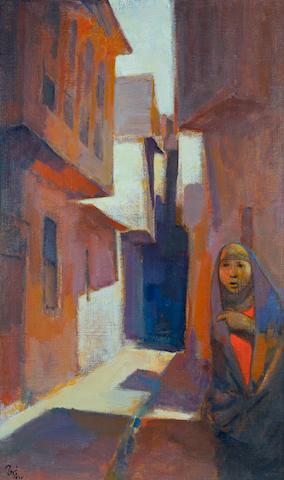(n/a) Faeq Hassan (Iraq, 1914-1992) Baghdad Scene,