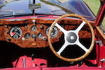 Only 1,448 miles since restoration,1956 Jaguar XK140 Drophead Coupé  Chassis no. 807355 Engine no. G6778-8
