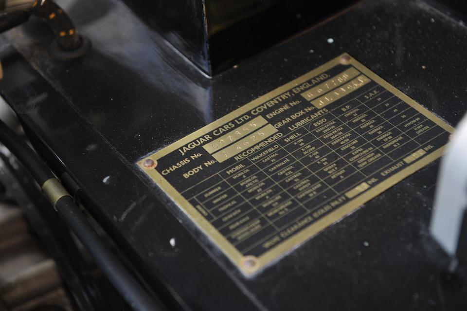 Only 1,448 miles since restoration,1956 Jaguar XK140 Drophead Coupé  Chassis no. 807355 Engine no. G6778-8
