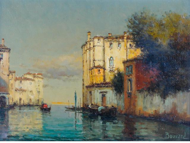 Noel Georges Bouvard (French, 1912-1975) Venetian scenes