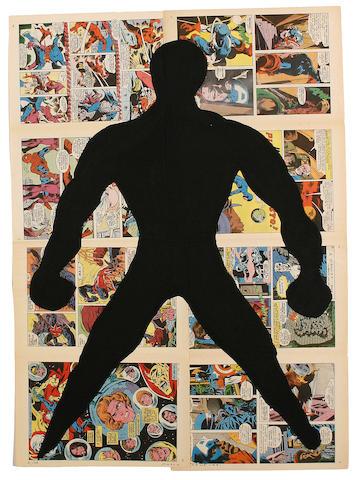 Paolo Canevari (Italian, born 1963) 'Supereroe', 2000