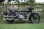 1929 Brough Superior 680 OHV Frame no. J878 Engine no. GTOY\S\43421\S