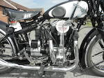 1934 Matchless 592cc Silver Hawk Frame no. 982 Engine no. B1878