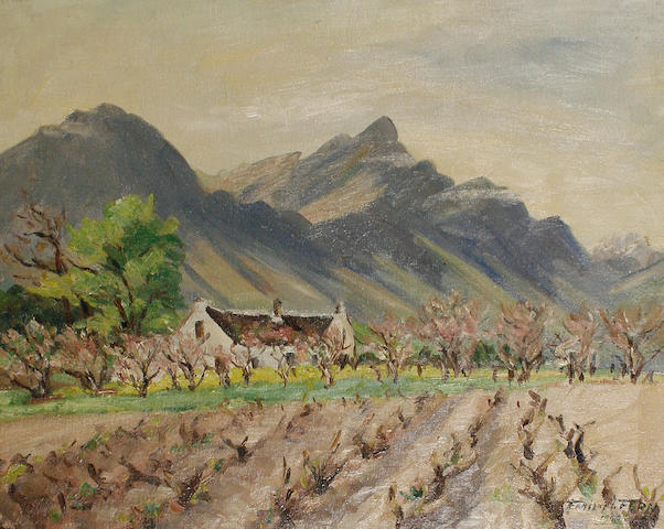 Emily I. Fern (South African, 1881-1953) Witleg Farm, Tulback