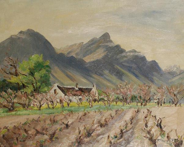 Emily I. Fern (South African, 1881-1953) Witleg Farm, Tulback