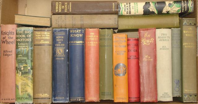 A good collection of early motoring books,
