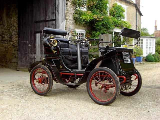 1900 De Dion Bouton Vis-a-vis,