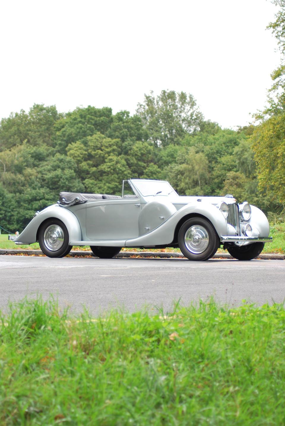 1938 Lagonda V12 Drophead Coupé  Chassis no. 14046 Engine no. 16069