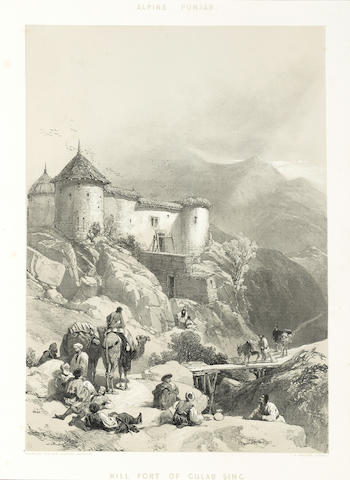 SIKH WARS HARDINGE (CHARLES STEWART) Eight views