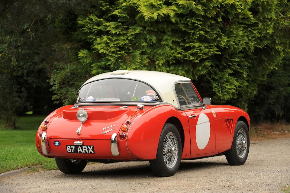 Property of a titled gentleman, the ex-works, Seigle-Morris, Makinen, Hopkirk, Morley twins,1962 Austin-Healey 3000 MkII Rally Car  Chassis no. HBN7 18704