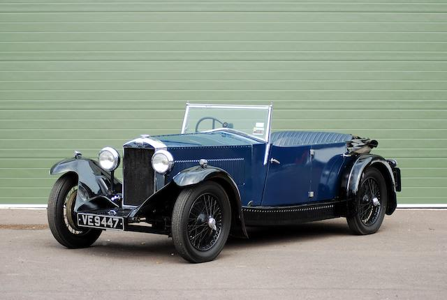 1933 Invicta 12/45hp Tourer, Chassis no. L238 Engine no. 8A 235