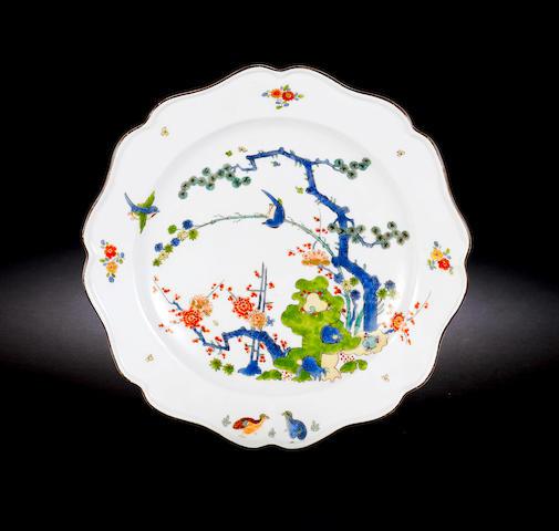 A Meissen plate circa 1740