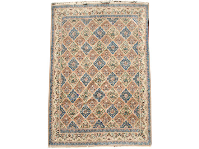 A Nain carpet Central Persia, 10 ft 6 in x 7 ft 2 in (319 x 218 cm)
