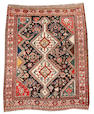 A Kashgai rug South West Persia, 5 ft 1 in x 3 ft 11 in (155 x 120 cm)