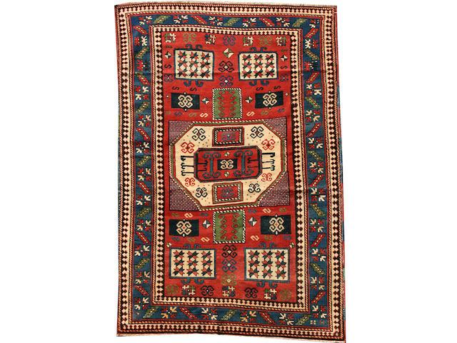A Karachov Kazak rug Central Caucasus, 7 ft 2 in x 4 ft 5 in (217 x 135 cm)