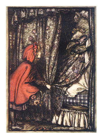 RACKHAM (ARTHUR) BROTHERS GRIMM. The Fairy Tales, No.132 of 750 copies