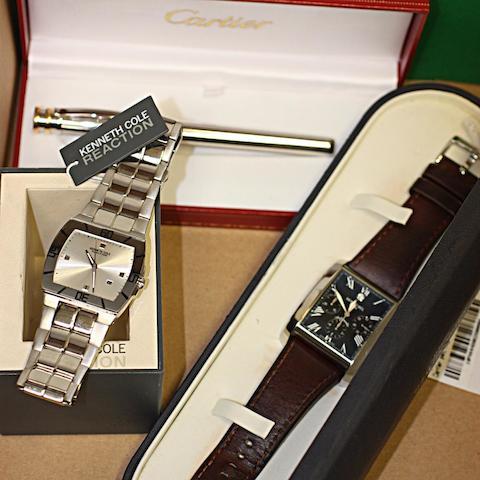 Raymond Weil: A gentleman's automatic chronograph calendar wristwatch (3)