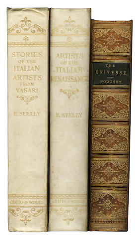 BINDINGS SEELEY (E.L., editor) Stories of the Italian Artists from Vasari