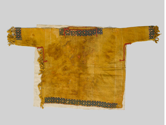 An early fragmentary woven wool Tunic Egypt, 7th-9th Century