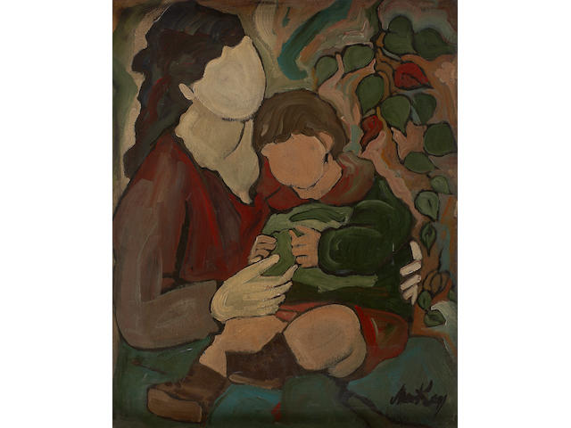 Markey Robinson (Irish, 1918-1999) Mother and Child