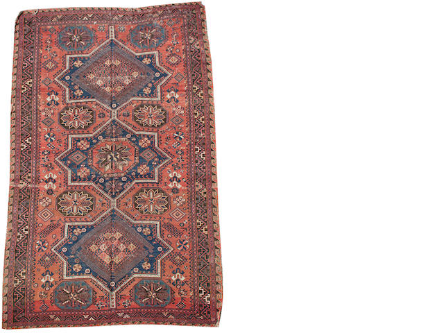 A Soumakh carpet South East Caucasus, 11 ft 9 in x 7 ft 4 in (357 x 222 cm)