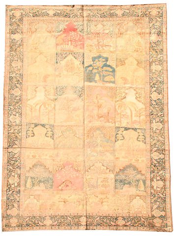 A silk Kayseri carpet West Anatolia, 9 ft 2 in x 6 ft 1 in (280 x 185 cm)