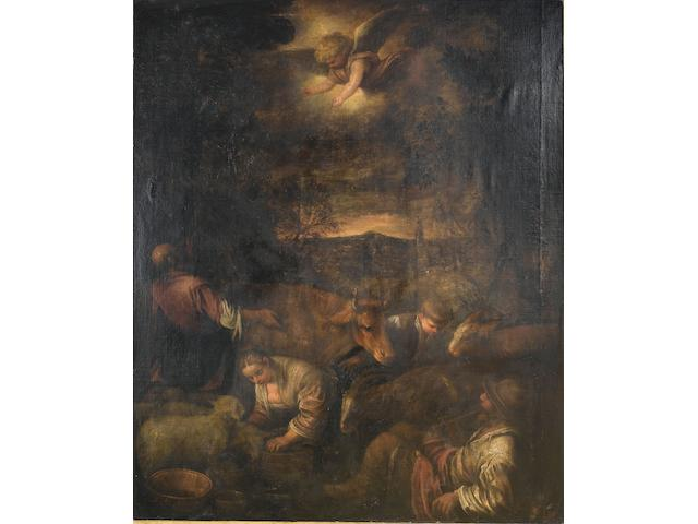 Circle of Leandro da Ponte, called Leandro Bassano (Bassano 1557-1622 Venice) The Annunciation to the Shepherds