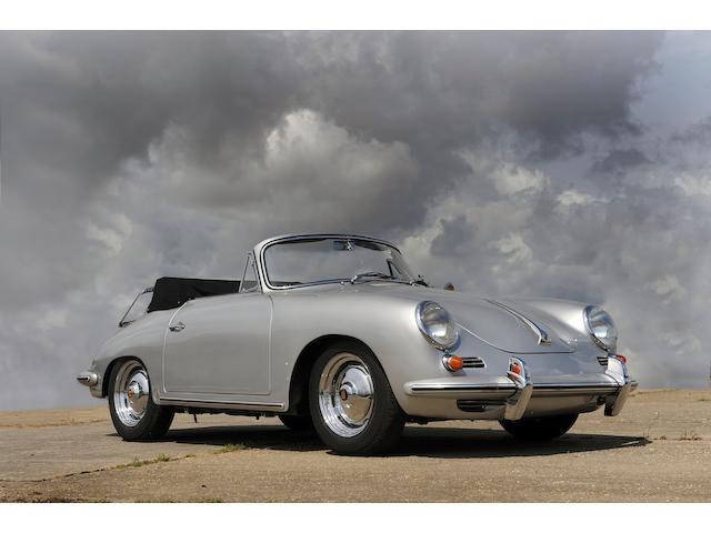 Porsche 356B Cabriolet,