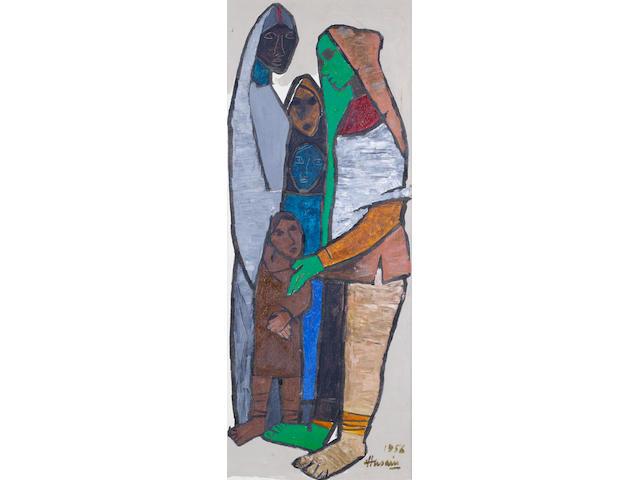 (n/a) Maqbol Fida Husain (India, born 1915) Khatna,