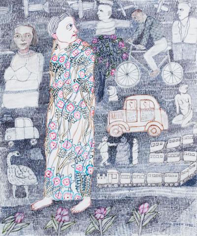 (n/a) Arpita Singh (India, born 1937) Untitled,