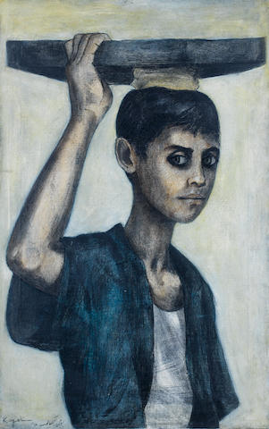 (n/a) Louay Kayyali (Syria, 1934-1978) The Young Ka'ik Seller,