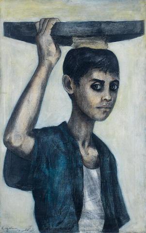 (n/a) Louay Kayyali (Syria, 1934-1978) The Young Ka'ik Seller,