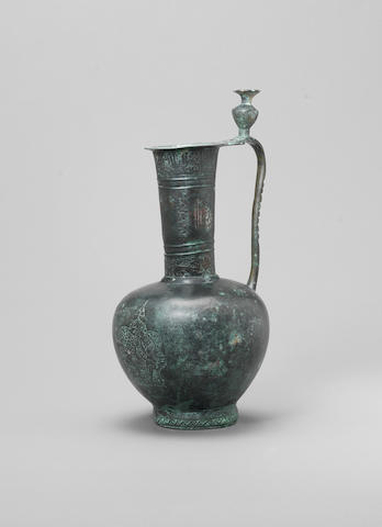 An early Islamic bronze Ewer Persia or Mesopotamia, 9th/ 10th Century