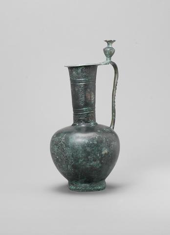 An early Islamic bronze Ewer Persia or Mesopotamia, 9th/ 10th Century