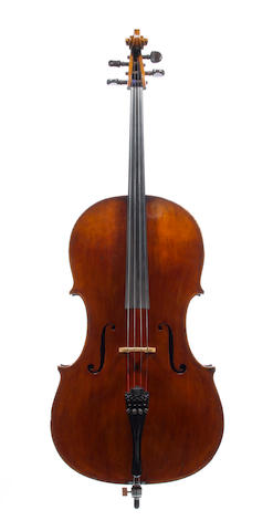 A fine English Violoncello by  Benjamin Banks, Salisbury circa 1790, (2)