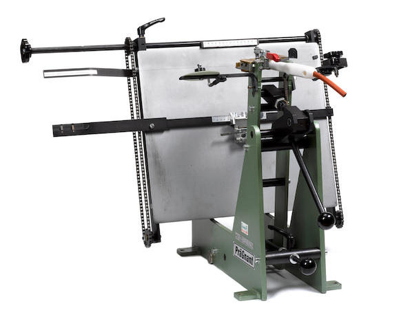 PRAGNANT BLOCKING PRESS PräGnant HHS 30 electric foil blocking press